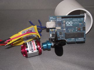 Thruster with Arduino and housing